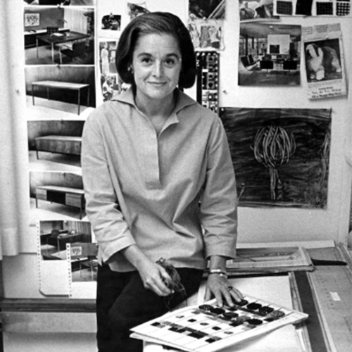 Florence Knoll, una de las mujeres diseñadoras de interiorismo más relevantes de la historia