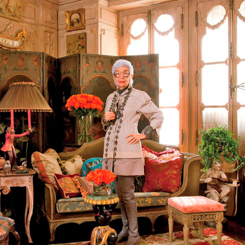 Iris Apfel, una de las mujeres diseñadoras de interiorismo más relevantes de la historia