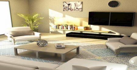 Muebles de decoración vanguardista