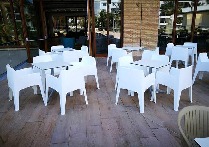 sillas para terrazas hosteleria